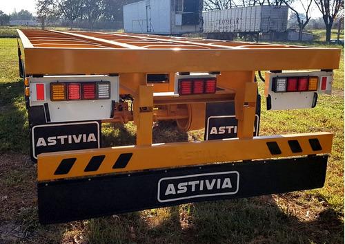 chasis de acoplado astivia 3 ejes - anticipo de