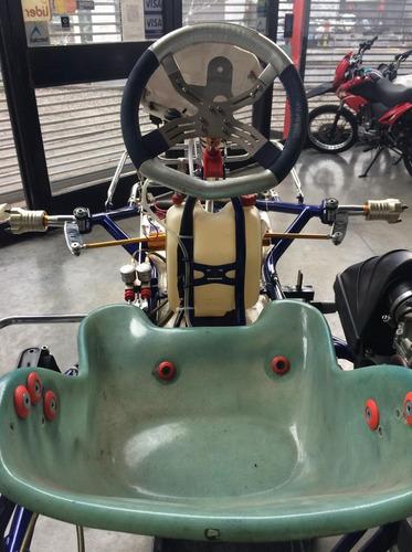 chasis de karting kosmic sin uso sin motor!!!!