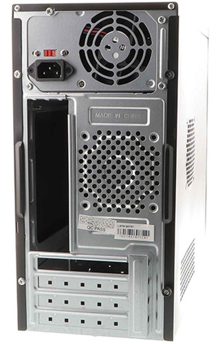 chasis gabinete gamer xtech fuente 500w teclado mouse bocina