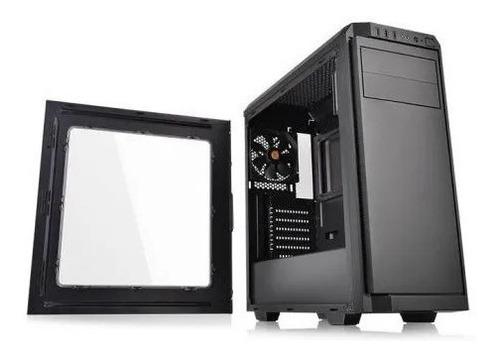 chasis gabinete thermaltake v100 sin fuente fan 120mm