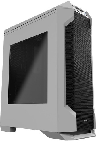 chasis gamer aerocool ls-5200 blanca y negro