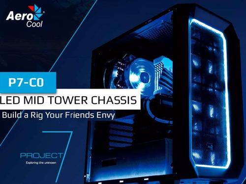 chasis gamer aerocool project 7 p7-c0 sin fuente