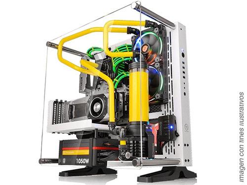 chasis gamer thermaltake core p3 se ca-1g4-00m6wn-02 blanco