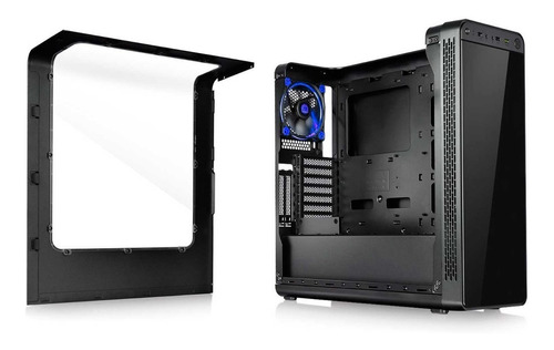 chasis gamer thermaltake view 27 ca-1g7-00m1wn-bu led azul