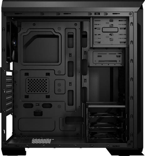 chasis gamer torre pc cpu case aerocool aero 500 s/fuente