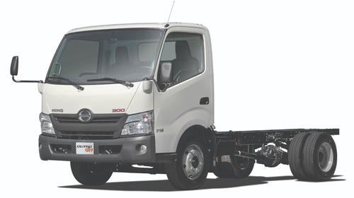 chasis hino dutro city - camion furgón, estacas, planchon