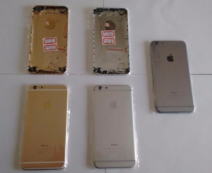 6f081737e1e Chasis iPhone 6 Plus Oro/plata/gris + Botones + Herramienta ...