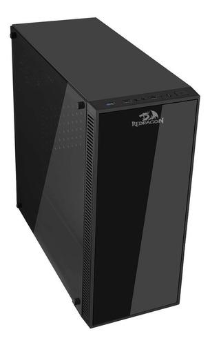 chasis redragon sideswipe gc-601 rgb + 4 fans rgb sin fuente