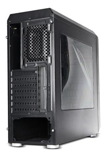 chasis torre atx mediana gamer atx/micro-atx/itx