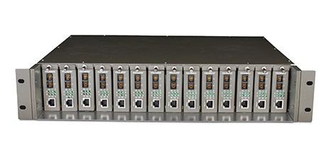 chasis tp-link mc1400 14 bahías montaje rack - tecsys