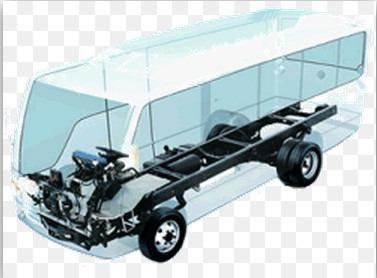 chasis y varas para autobus urbano y microbus