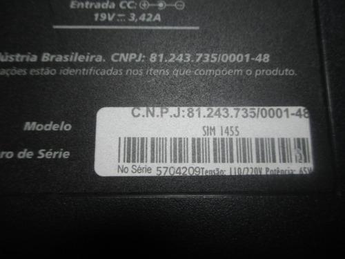 chassi base de notebook positivo sim+ 1455
