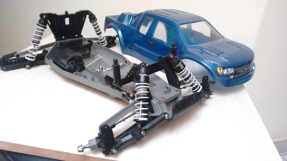 Chassi Traxxas Rustler Vxl Xl5 2wd Bolha Ford R 34990 Em Carregando Zoom