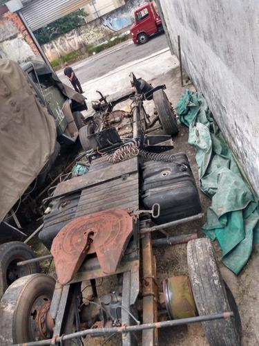chassis de caminhâo m.b documentado m.b 1941