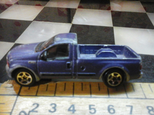 chata  escala 1/64 ford f 350 retrovintage