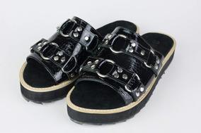 Swag 100Cuero Chatas Chatitas Sandalias Zapatos Nm8n0wvO