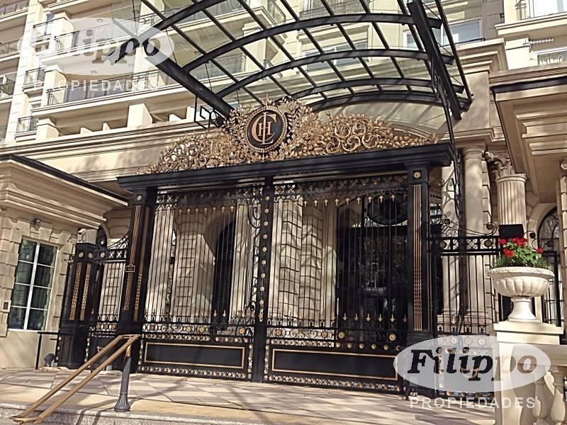 chateau libertador exclusivo esquinero con terraza 426 mts. totales