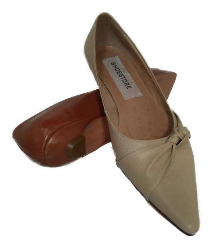 chatitas cuero chata suela forro cuero modelo zu shoestore