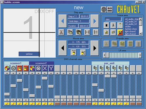 chauvet showxpress plus rackmount controller dmx-512 usb int