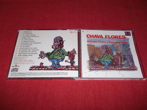chava flores - salvador flores fernando rosas cd 1990 mdisk