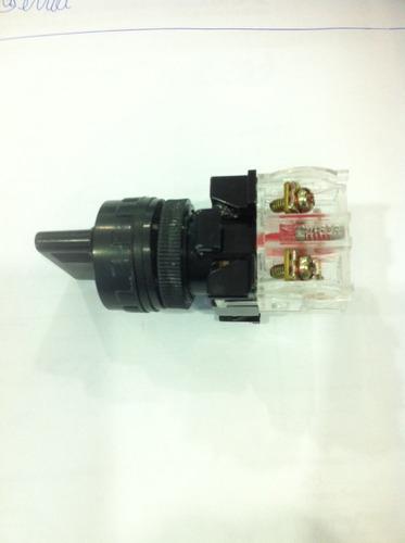 chave 3 posiçoes 1nf/1na 22mm