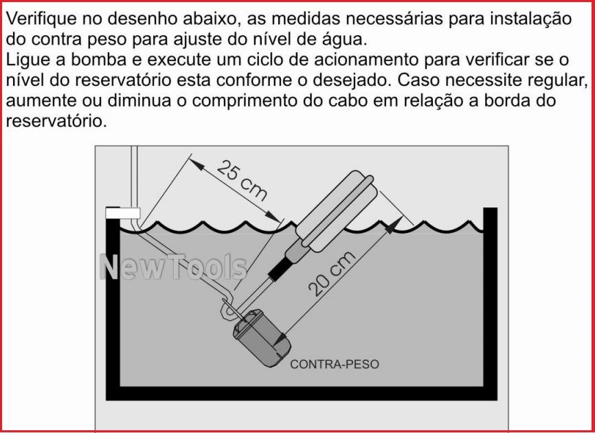 Chave b ia de nivel eletrica anauger p bomba de gua r for Regulador de nivel piscina