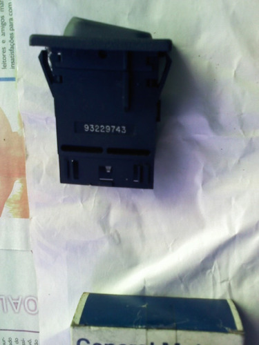 chave botão interruptor farol neblina s10 blazer gm original