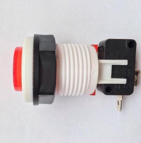 chave botão push button psb-29 vermelho (450 peças)