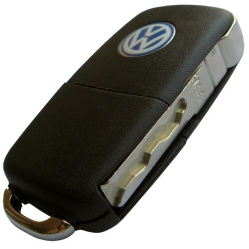 chave canivete alarme positron volkswagen 293/300 + code
