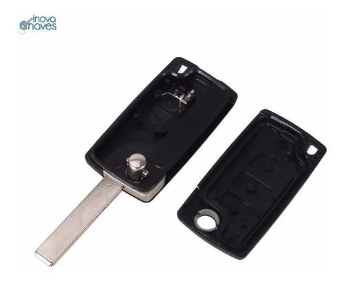 chave canivete citroen c3 novo aircross carcaça da chave