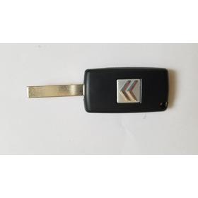 Chave Canivete Citroen C4 Hatch Botao Farol 0523