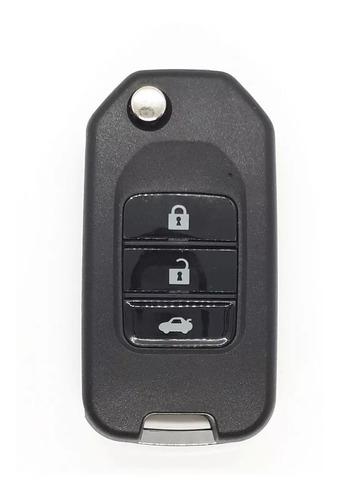 chave canivete honda accord civic city crv fit. para substituir telecomando original, carros até 2013. chave completa!