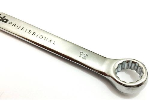chave combinada cromo vanádio 6x32 jogo c/ 16 pcs - eda 8ay
