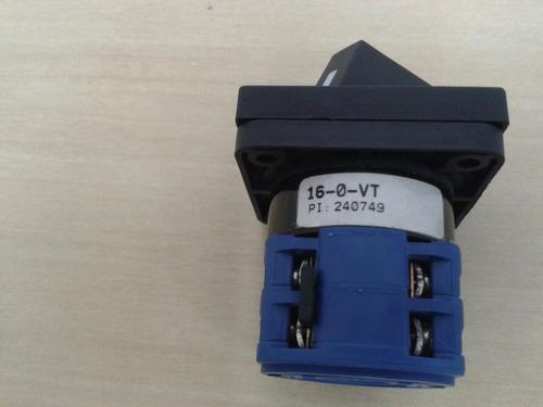 chave comutadora voltimetrica 16/0/vt  ok
