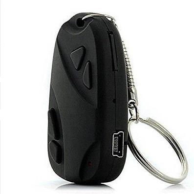chave de carro chaveiro espião mini câmera escondida