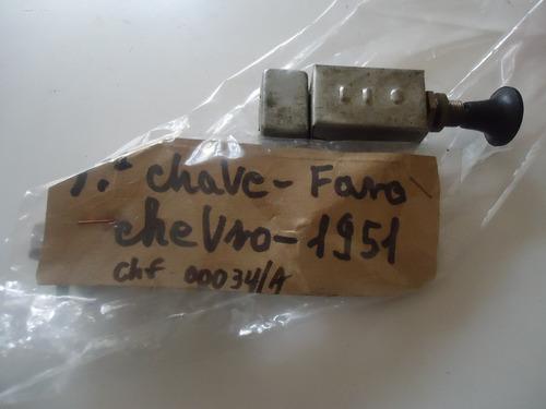 chave de farol gm chevrolet 1951 okm.
