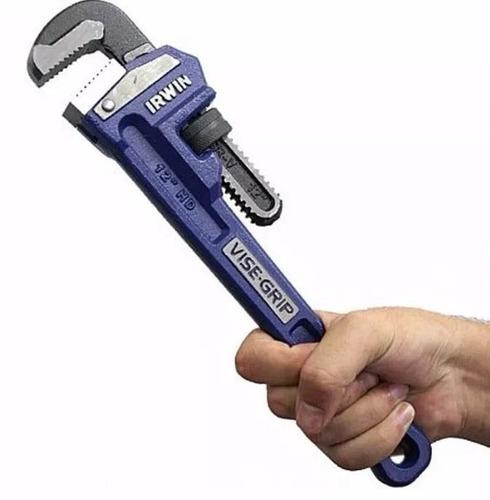chave de grifo tubo e cano 12'' vise-grip 274106 irwin