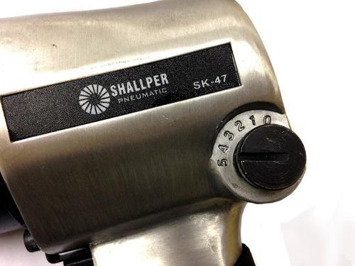 chave de impacto profissional 1/2 c/ soquetes shallper 71kg