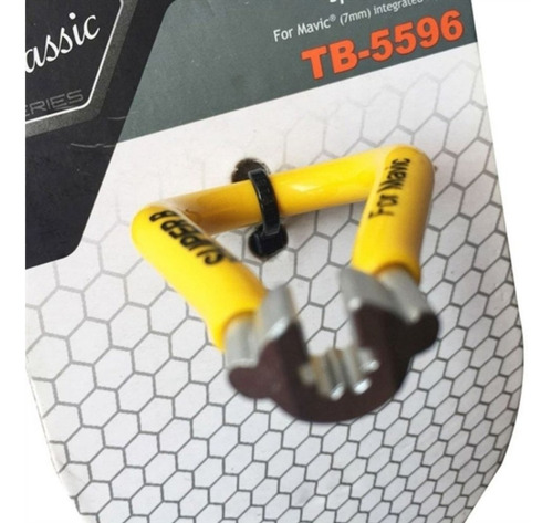 chave de raio super b tb-5596 p/ rodas mavic 5.65mm