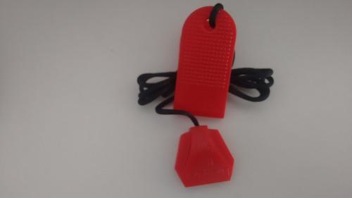 chave de segurança da esteira tc30e olympikus