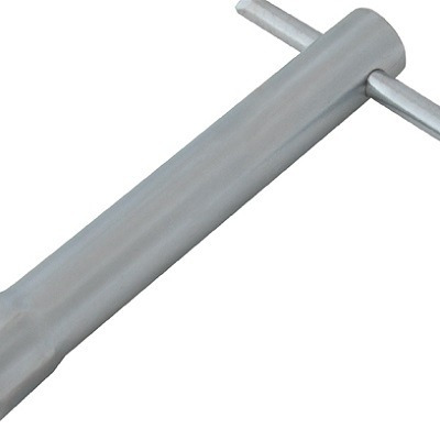 chave de vela sextavada 21 x 064mm cromo forte yamaha