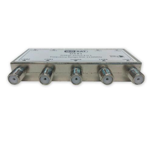chave diseqc 8x1 switch 1.1 p/ até 8 antenas pronta entrega!