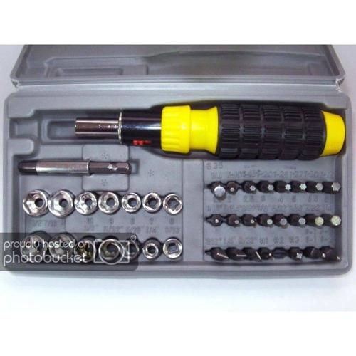 chave fenda kit