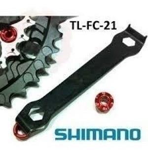 chave  ferramenta porca do pedivela shimano tl-fc21