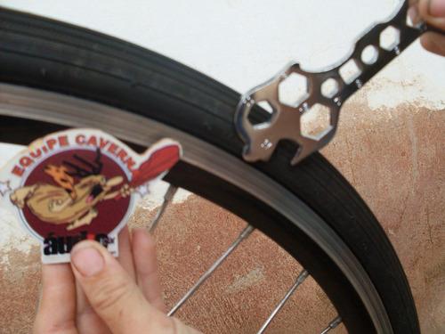 chave ferramentas bike bicicleta - 17 em 1 - frete gratis