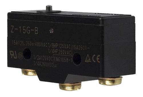 chave fim de curso micro switch z-15g-b 15a 250v painel