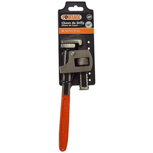 chave grifo 18 encanador hidráulica manutenção  foxlux