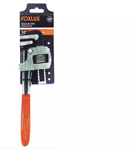 chave grifo de cano 14 pol. - foxlux