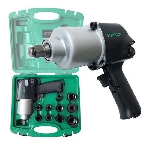 chave impacto pneumática 1/2 780nm c/ soquete potente brasil