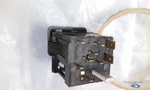 chave interruptor farol gol g2 bola gti plus botão reostato